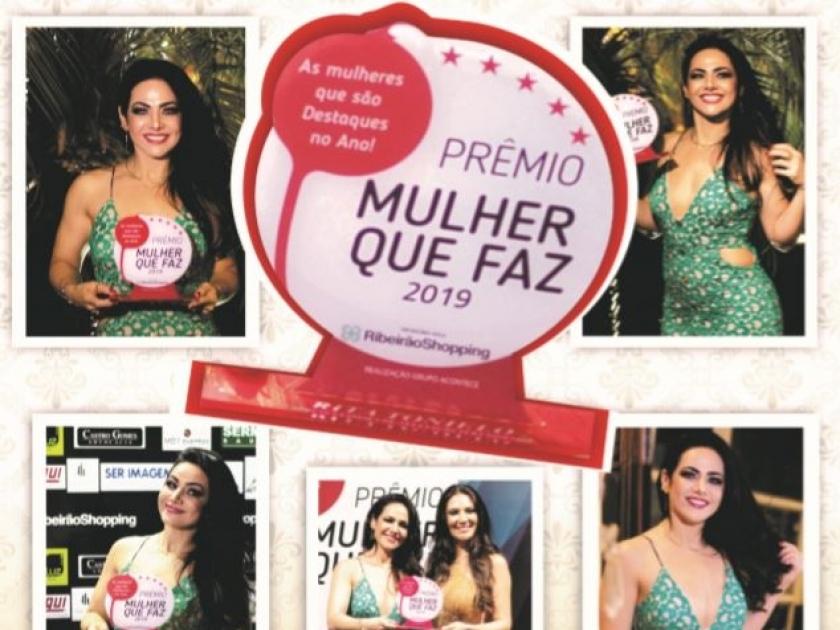 Parabéns Dra. Rita - Prêmio Mulher Que Faz 2019