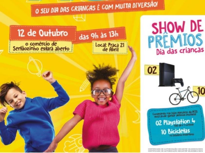 SHOW DE PRÊMIOS ACIS TRAZ MAIS DE R$100.000,00 EM PREMIAÇÕES