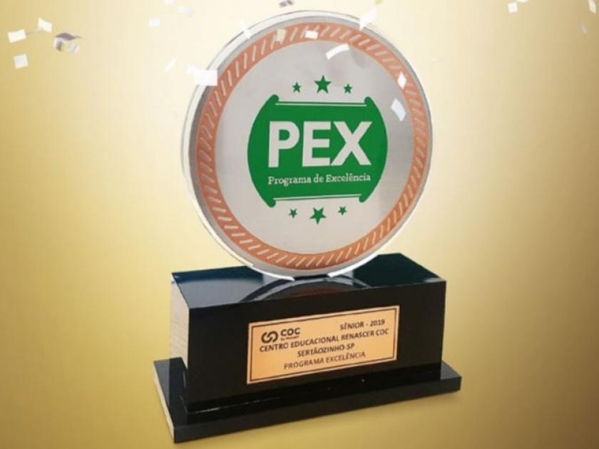 Prêmio de excelência - Sistema COC 2019