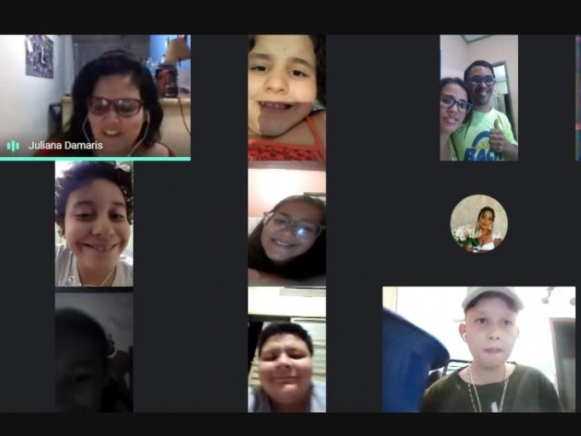 Instituição Aparecido Savegnago exibe apresentação online dos alunos de Coral e Teatro